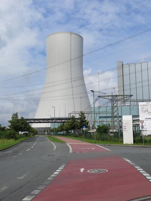 Am Ende eines langen Weges funktioniert es immer noch nicht - Kohlekraftwerk Walsum (fotos: zoom)