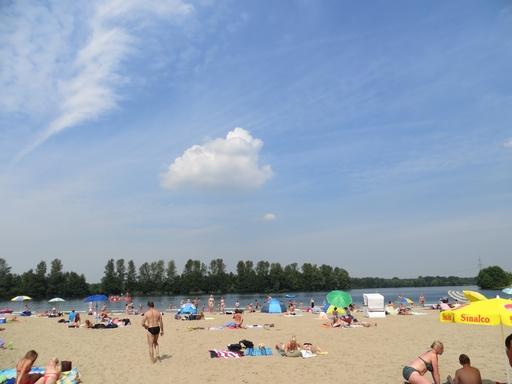 Bitte heute nur angucken und morgen früh hingehen: Baggersee am Tenderingsweg. (foto: zoom)