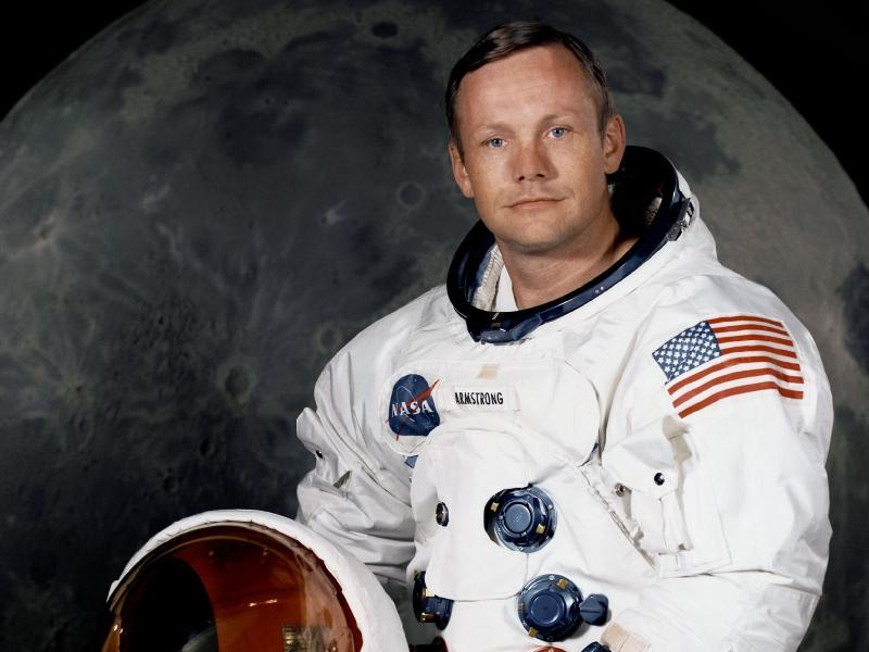 R.I.P. Neil Armstrong, 1930 - 2012. (foto: NASA)