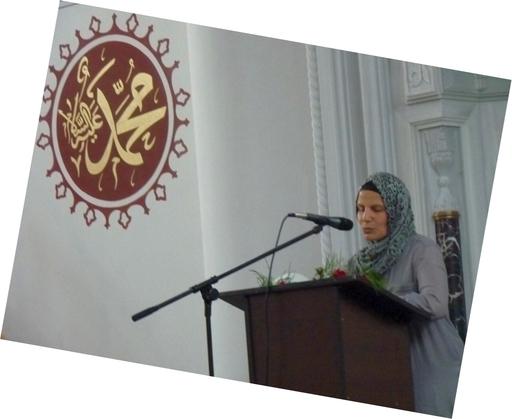Ramadan Feier Rednerin