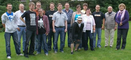 Gruppenbild mit Damen: Piratenpartei HSK. (foto: piraten)