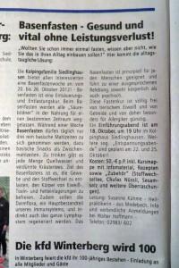 Mitteilungsblatt #20 Stadt Winterberg S. 16: aus dem Vereinsleben (foto: zoom)