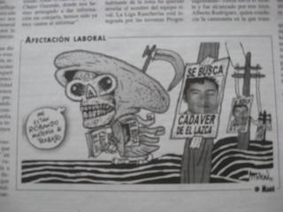 """Der noch amtierende Präsident Felipe Calderón merkt an, dass man zu den bereits vorhandenen Kategorien """"Tote"""" und """"Verschwundene"""" in seiner Amtszeit nun auch noch die """"verschwundenen Toten"""" zufügen muss."""
