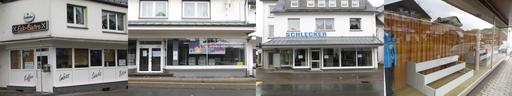 Leere Läden, wie hier in Siedlinghausen, sind nicht attraktiv. (fotomontage: zoom)