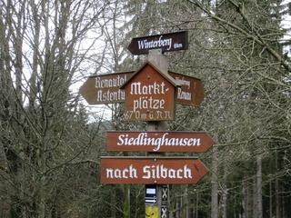 Die Marktplätze zwischen Siedlinghausen/Silbach und Winterberg (foto: zoom)