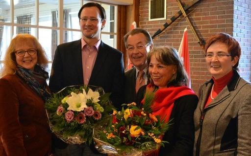Inge Blask (MdL), Dirk Wiese, Franz Müntefering (MdB), Barbara Schmidt und Birgit Sippel (MdEP) (foto: spd)