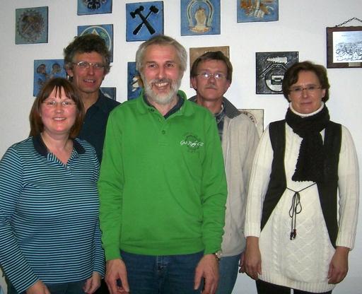 von links: Dorothea Schulte- Huermann, Antonius Becker, Klaus Korn, Andreas Lux, Anke Rose. (foto: grüne sundern)