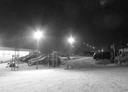 Parken, wenn die Politesse schläft. Heute vor dem Oversum in Winterberg. (fotos: zoom)