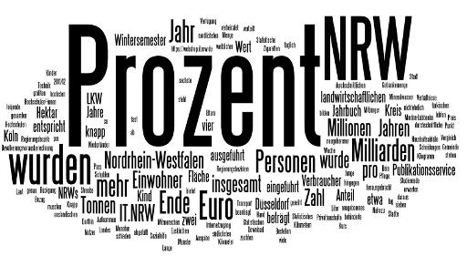 Bei IT.NRW findet man fast alles ... vor allem Statistik.
