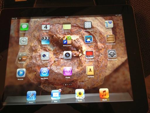 Alles im sicheren Bereich beim neuen iPad? (foto: Eva-Maria Rose)
