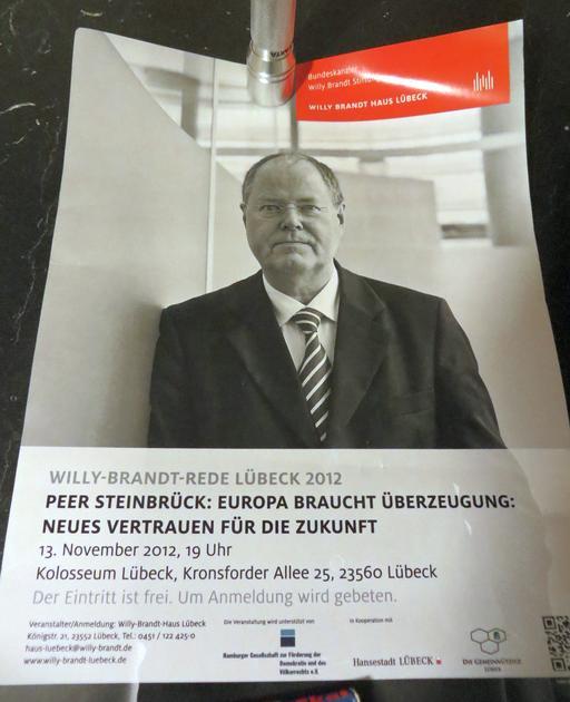 Großer Optimismus bei der SPD im November 2012