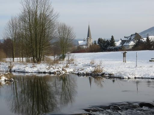 Die Ruhraue bei Bigge im Hochsauerland (foto: zoom)