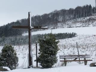 Kreuz auf der Ennert