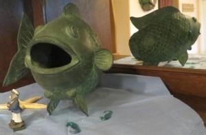 Im Fischrestaurant