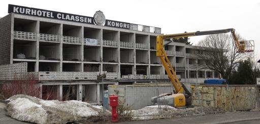 Hotel Claasen Abbruch