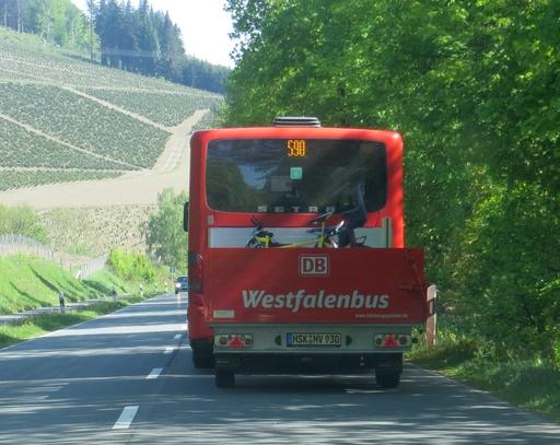 Fahrradanhänger am S 90