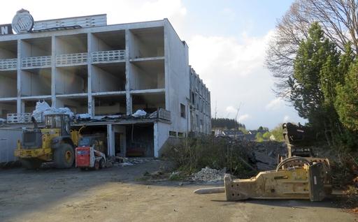 Hotel Claassen Abriss
