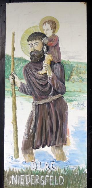 Heiliger St. Christophorus