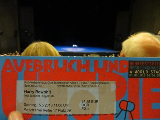 Warten auf Harry Rowohlt