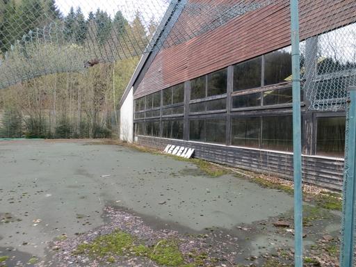 Sportpark Rückseite