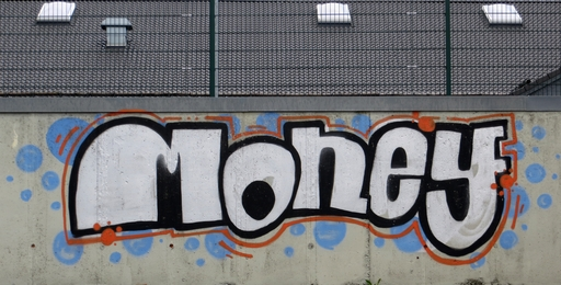 Money-Graffito