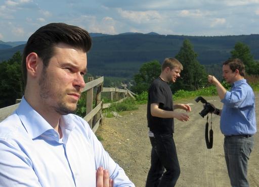 Abgeordneter ... Daniel Wagner und Florian Otto (foto: zoom)