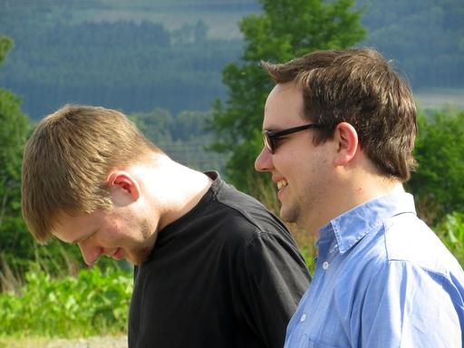 Daniel Wagner und Florian Otto