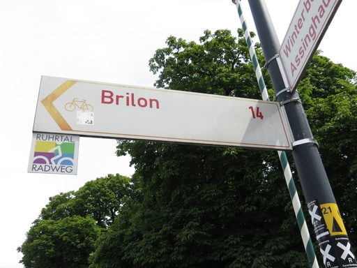 Wegweiser Brilon