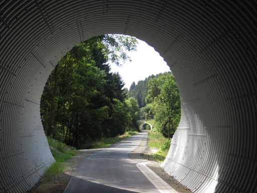 Radweg nach Züschen