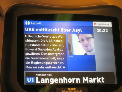 Snowden in der U1