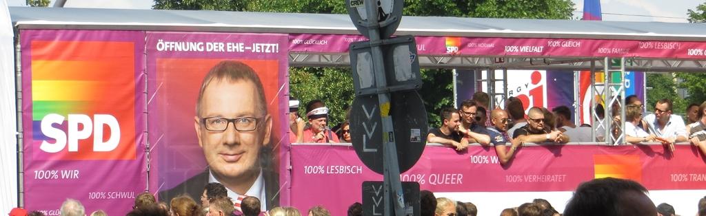 CSD-Wagen der SPD