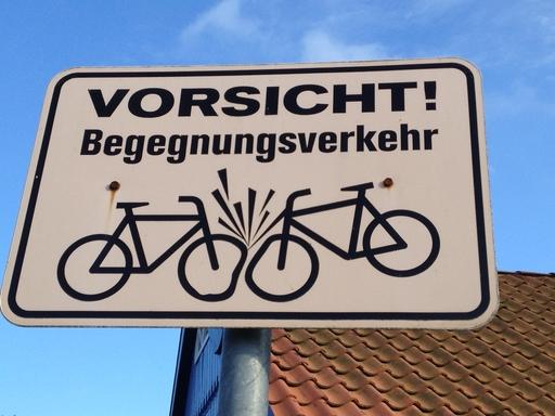 Gefährliches Otterndorf in Niedersachsen. (foto: eva-maria rose)