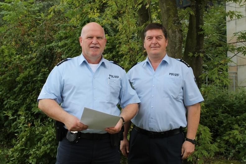 Polizeihauptkommissar Dieter Marczyk neuer Bezirksdienstbeamter der Polizeiwache Brilon (foto: polizei hsk)