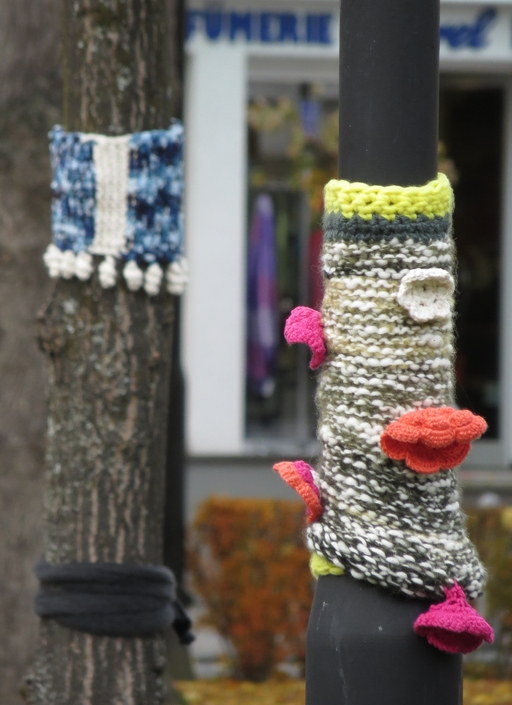 Blogstöckchen (war: Urban Knitting)