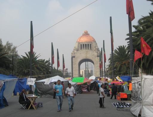Lehrerstreik in Mexiko