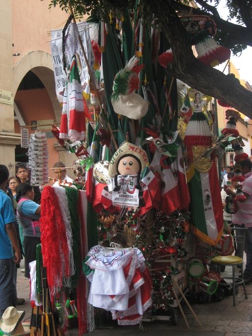 Feiern und verkaufen in Mexiko