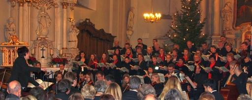 """Die Neue Chorwerkstatt:  """"Der Messias"""" aufgeführt unter Leitung von Susanne Lamotte (fotos: loos)"""