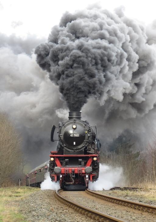 Dampflok 41360