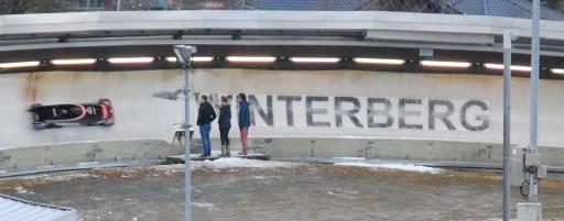 Winter 2014 an der Bobbahn. (foto: jh)