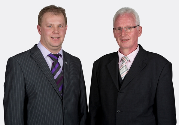 Jörg Burmann (links) und Günter Hauers (foto: spd)