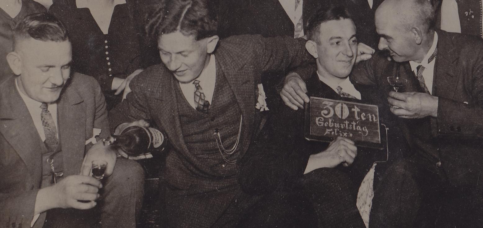 Geburtstag im Ruhrgebiet 1929