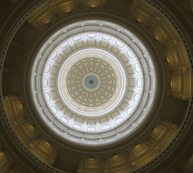 Texas Lone Star State Capitol in Austin (foto: zoom)