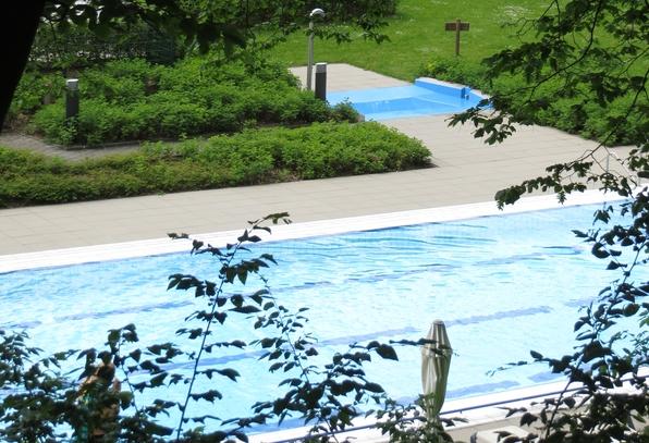 Das Freibad des AquaOlsberg - von Hecken und Bäumen umwachsen. (archivfoto: zoom)