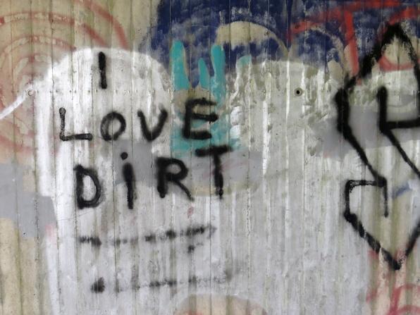 Ein Unterführungsgraffiti auf dem Weg nach Meschede (fotos: zoom)