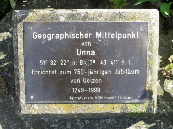 Der Mittelpunkt von Unna kann mit dem Fahrrad erreicht werden.