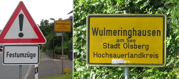 Wulmeringhausen liegt seit kurzem am See. (K)ein Scherz. (fotos: zoom)