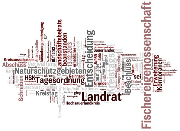 Die SBL fragt: Warum hat eine kleine Fischereigenossenschaft im Hochsauerlandkreis so viel Macht und Einfluss hat?