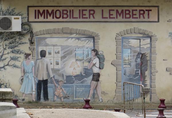 Ein Wandbild irgendwo im Nachbarland (foto: zoom)