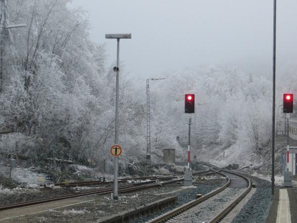 Kein Bahnverkehr zwischen Winterberg und Siedlinghausen. Die Arbeiten sollen noch diese Woche andauern.