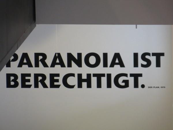 Heute im Dortmunder U mit Paranoia: Immer wieder gerne (foto: zoom)